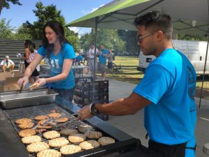 Homelessness is No Picnic a family-friendly barbecue event establishes sense of community
